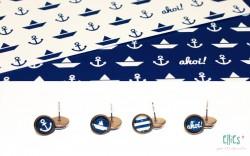 Ohrstecker maritim