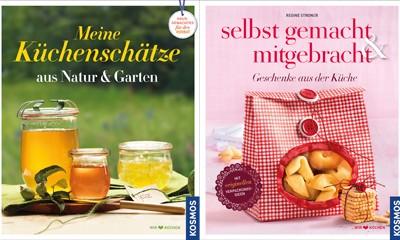 """Buchliebe – """"Meine Küchenschätze"""" und """"selbst gemacht & mitgebracht"""""""