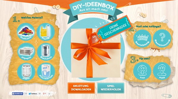 DIY-Ideenbox