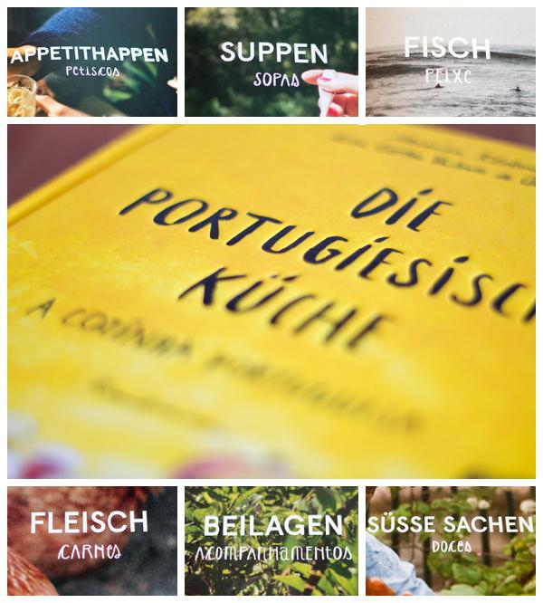 Die portugiesische Küche- Collage