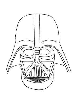 Darth Vader zum an die Wand hängen und ausdrucken