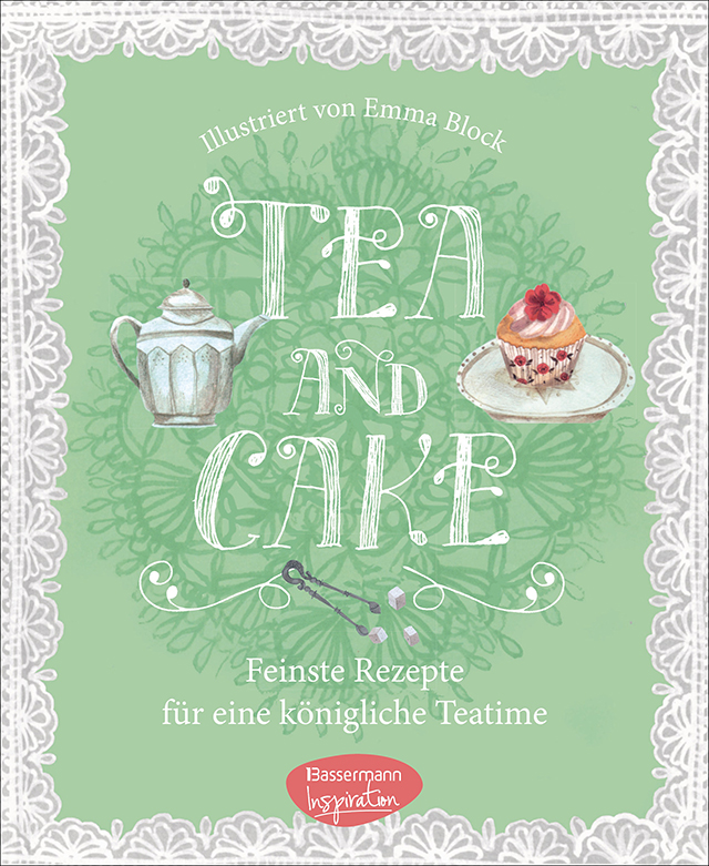 Tea and Cake Illustriert von Emma Block