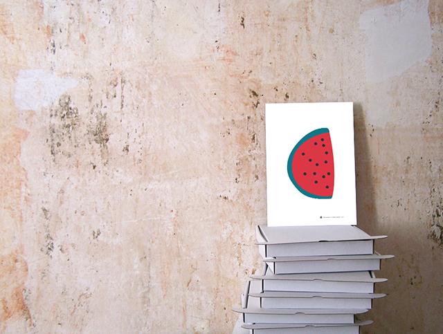 Maedchenwahn Fruchtcocktail Wassermelone Print