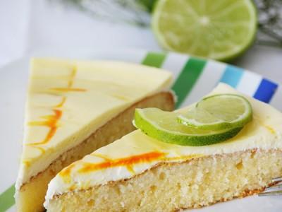 Zitronen-Schmand-Kuchen klein
