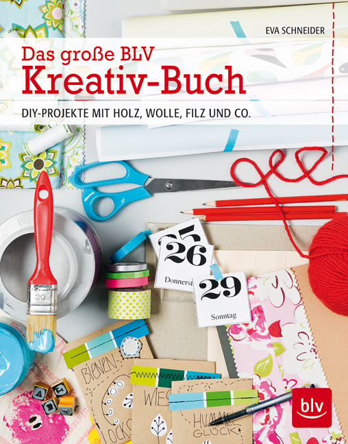 Das große BLV Kreativ-Buch Cover