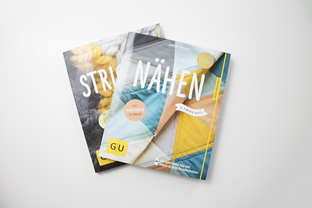 Bücher  GU Verlag Nähen- und Stricken - so einfach geht's