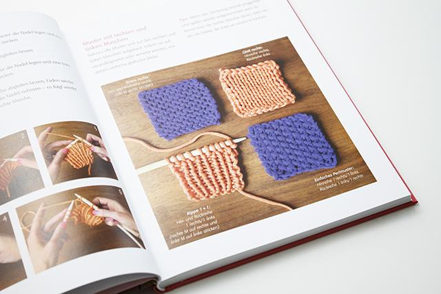 Das geniale Schnellstricker-Buch Strickschule