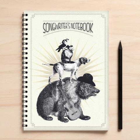 Songwriter Notizbuch
