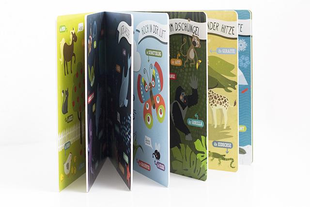 Buchliebe Hallo Tiere! von Kathrin Wessel aus dem Oetinger Verlag